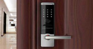 قفل هوشمند درب ضد سرقت