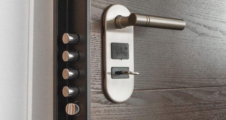 قفل کلیدی درب ضد سرقت