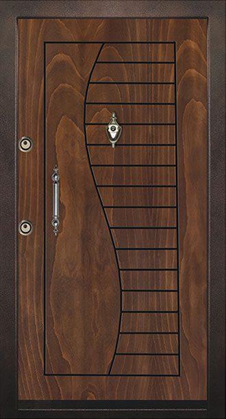 درب چوبی ضد سرقت