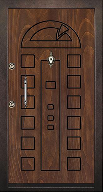 درب چوبی خانه