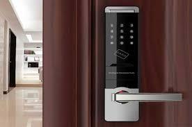 قفل لمسی درب ضد سرقت