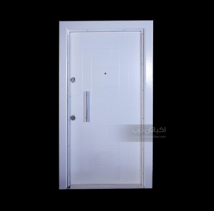 درب ضد سرقت ترک سری اکوپنل - مدل 5016 سفید
